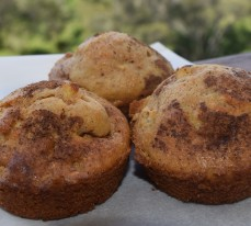 Apple Tea Cake Muffin