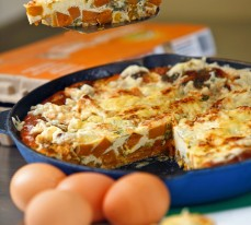 Sweet Potato, Pumpkin and Onion Frittata