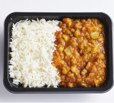 Split Pea and Lentil Dhal with Basmati Rice (single serve)