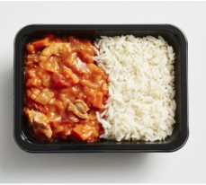 Butter Chicken with Rice (single serve)